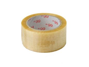 Pakkausteippi PVC 48mm*66m, kirkas