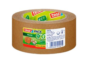 Pakketape ecoLogo 50mmx50m papir