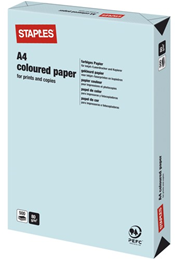 Kopieringspapper A4 80g Ljusblå