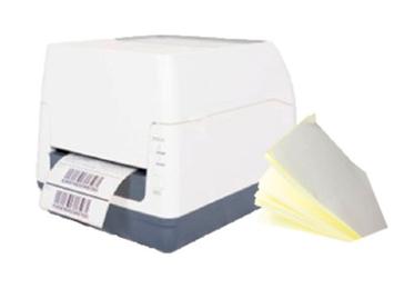 Kit med printer og transportetiketter