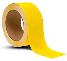 Pakkausteippi PP-NN 48mm*66m, keltainen