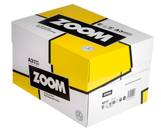 Kopipapir Zoom A3 80g