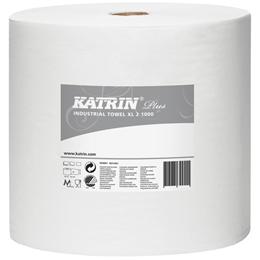 Aftørringsrulle Katrin Plus XL2 hvid
