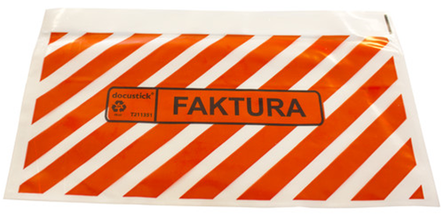 Packsedelskuvert Faktura