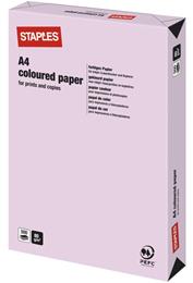 Kulørt papir  A4 80g Lyslilla