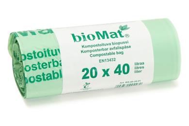 Biomat-pussi 520*630mm, 18µ, 40L