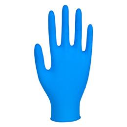 Engångshandske Nitril Blå XS 100/FP