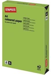 Kulørt papir A4 80g Grøn