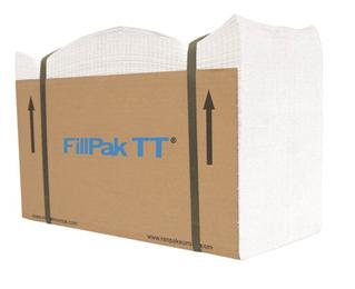 FillPak TT fanfold papir 60g 500m hvit