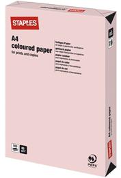 Kulørt papir A4 80g Lysrosa