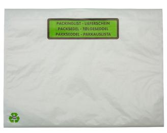 Packsedel C5 papper tryck