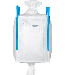 Clean Big Bag, staubdicht, Ein- u. Auslaufstutzen, 91 x 91 x 125 cm