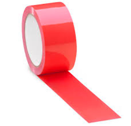Pakkausteippi PP-NN 50mm*66m, punainen