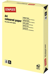 Kopieringspapper A4 80g Ljusgul