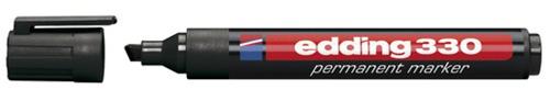 Marker EDDING 330 skrå spids sort