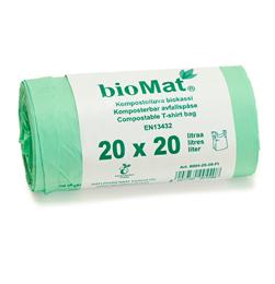 Biomat-kassi 420*500mm, 15µ, 20L
