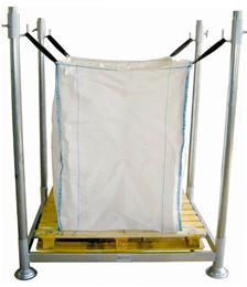 Gestell für Big Bags bis 125cm Höhe