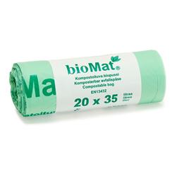 Biomat-pussi 540*510mm, 18µ, 35L