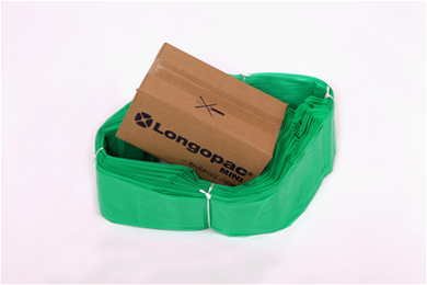 Longopac mini strong 45m grön