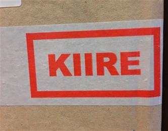 "Huomioteippi 50mm*50m ""Kiire"""