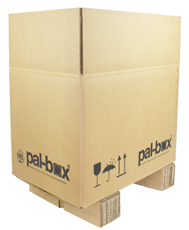 Pallbox komplett 1/4 580x380x400mm