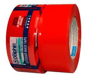 Suojateippi Soft PVC 48mm*50m, punainen