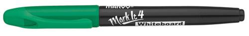 Whiteboardpenna MARVY Markit rund grön
