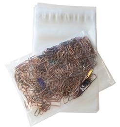 Plastpåse förslutningbar 180x250+40x0.03mm