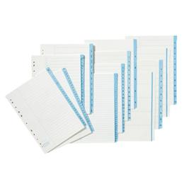Pappersregister A4 1-31