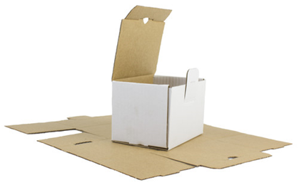 Selvlåsende kasse ES28 200x140x95mm