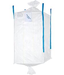 Formstabiler Big Bag 110 x 110 x 180 cm, Ein- u. Auslaufstutzen, bis 1250 kg