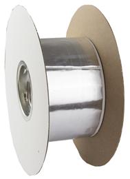 Aluminiumtape 75mmx15x0,8mm sort butyl