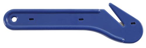 Kniv bånd & folie blå 12-pack