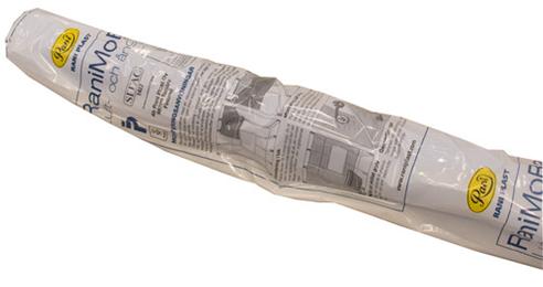 Fuktsperre 2,6x15m 150my Blå