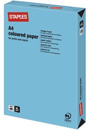 Kulørt papir A4 80g Kobolt