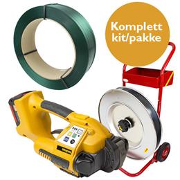 Strapværktøj automatisk kit