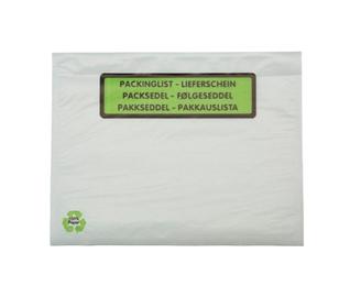 Pakkseddel C6 papir tryk