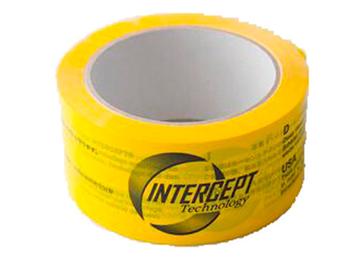 Intercept tape 50mmx66m gul, 6 sprog