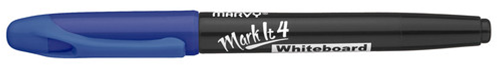 Whiteboardpenna MARVY Markit rund blå