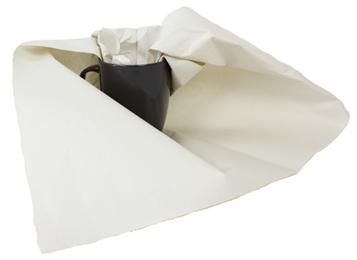 Makulatur 49g 50x75cm hvidt tryk