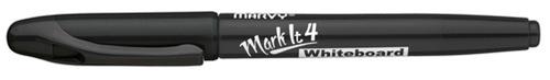 Whiteboardpen MARVY Markit Rund Sort