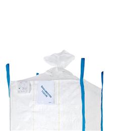 Big Bag mit Schürze und Auslaufstutzen, 91x91x110cm
