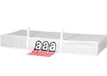 Big Bag Asbest für Asbestplatten 324x129x34cm