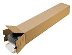 Fyrkantstub QP 6 860x105x105mm brun
