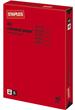 Kulørt papir A4 80g Rød
