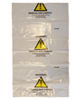 Sekker klare 100x168cm 160my asbest