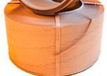 Pakkebånd av papir 9mmx2000m brun