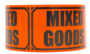 "Varseltape ""Mixed goods"""
