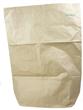 Avfallsekk papir 125L 750x1000x250mm