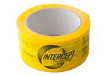 Intercept tejp 50mmx66m gul, 6 språk